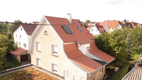 Energetische Dachsanierung mit Ausbau