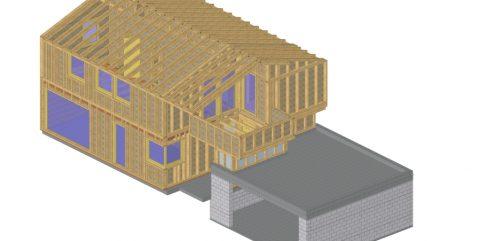 Ein Traumhaus aus Holz